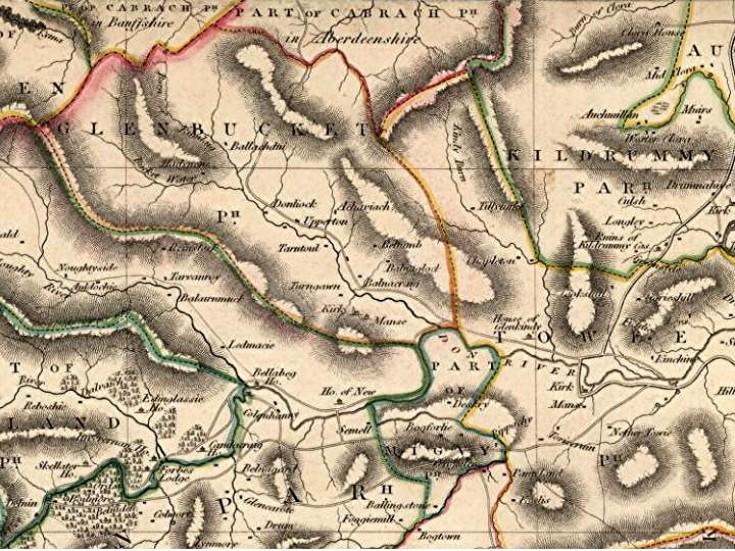 25 Map 1832