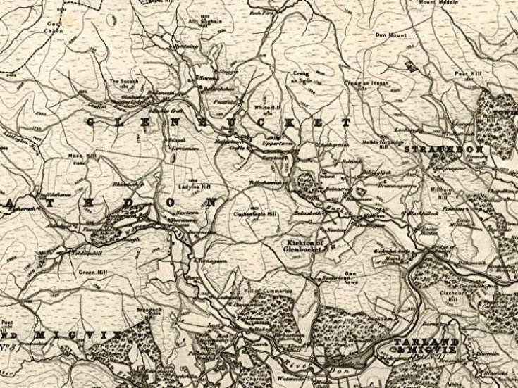 26 1856 OS Map