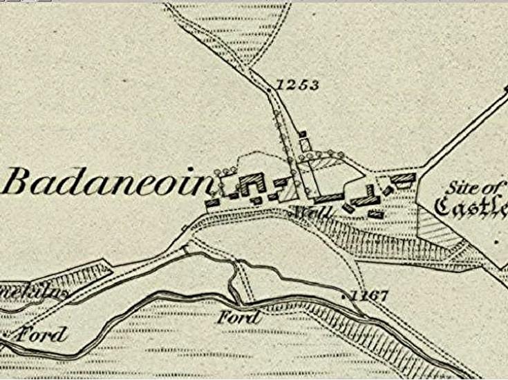 36 Badenyon 1865 map