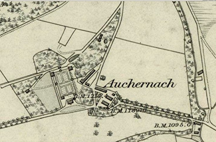 37 Auchernach 1865 map