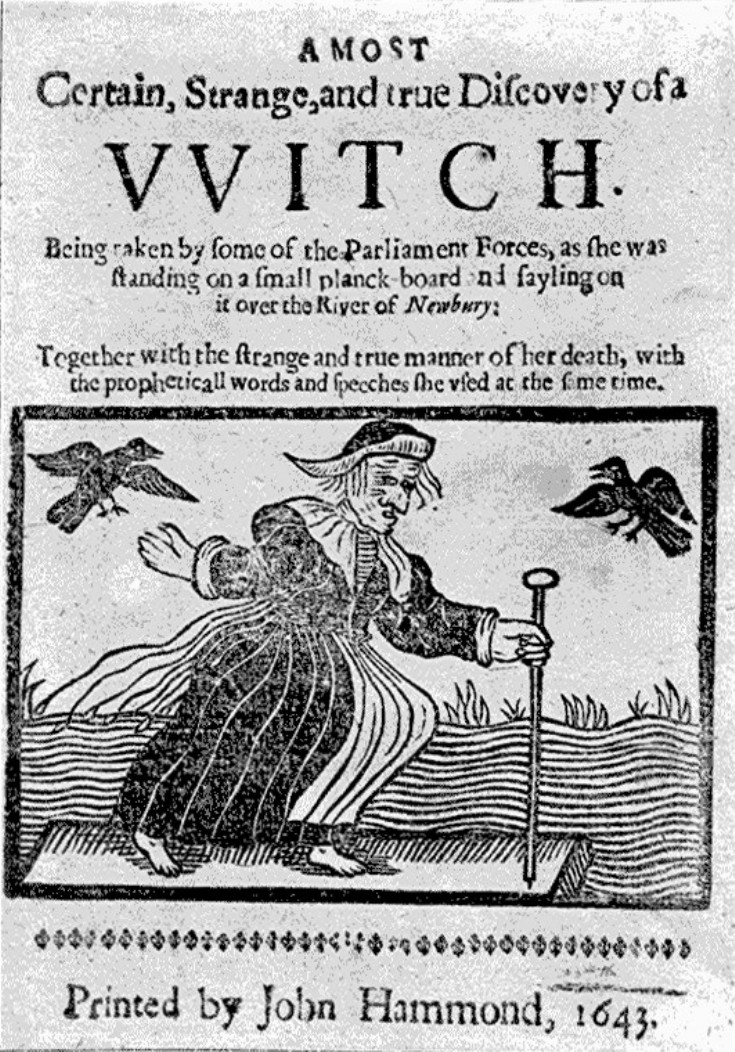 Witchcraft in the 17th century essay
