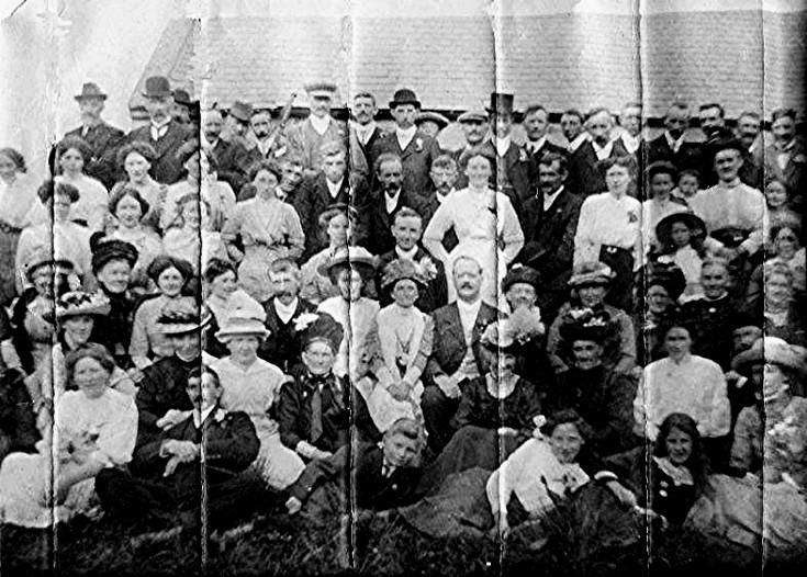 14 Wedding 1900's