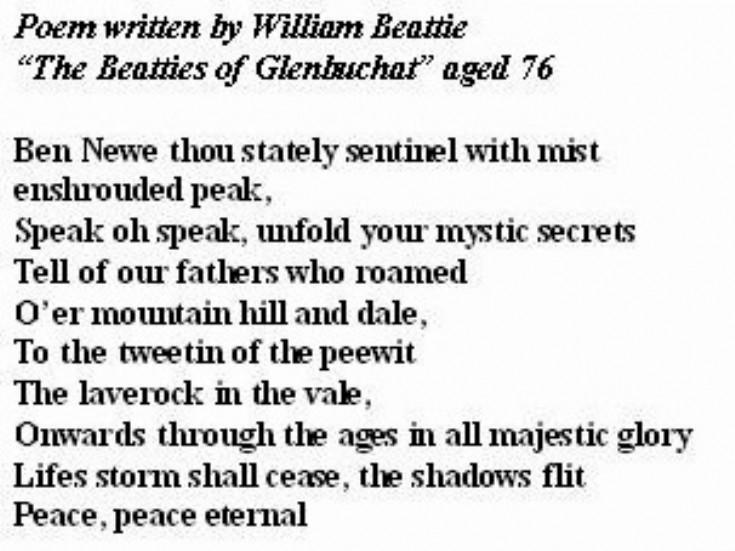 71 Ben Newe by Wiliam Beattie