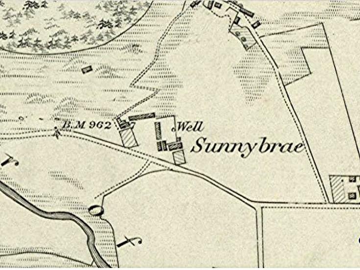 60 Sunnybrae Farm 1869 Map