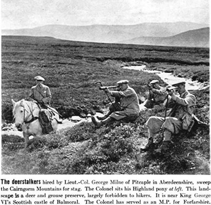 62 Col George Milne Stalking 1937