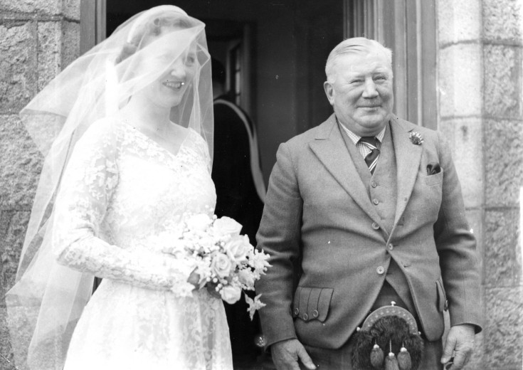 52 Col James Barclay Milne  family Wedding