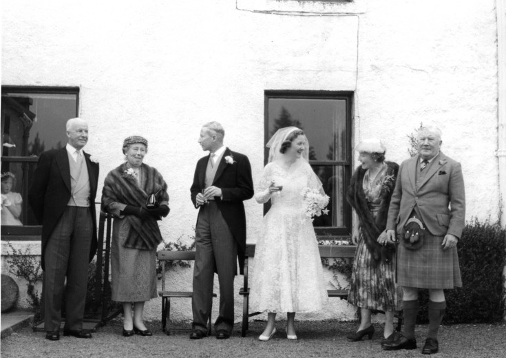 53 Col James Barclay Milne  family Wedding