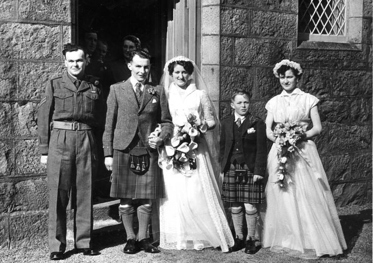 54 Thomson Wedding 1955