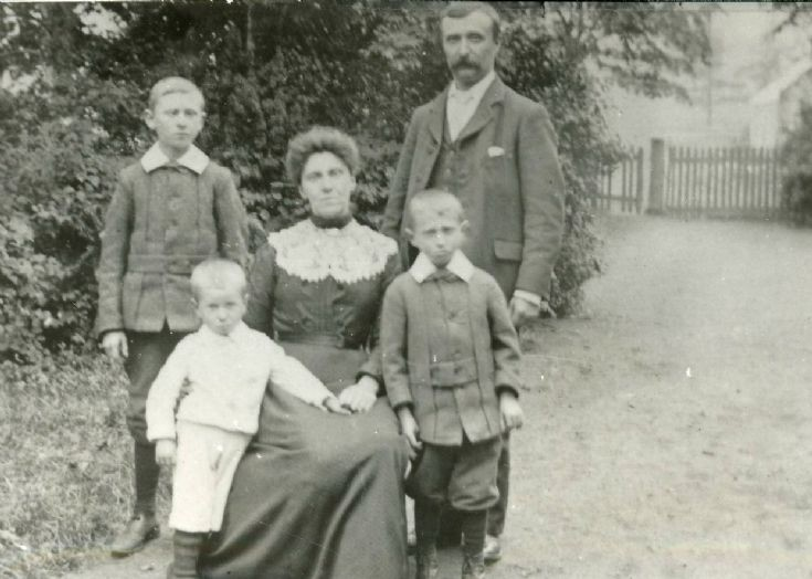 1 Dominie and Family Old Schoolhouse