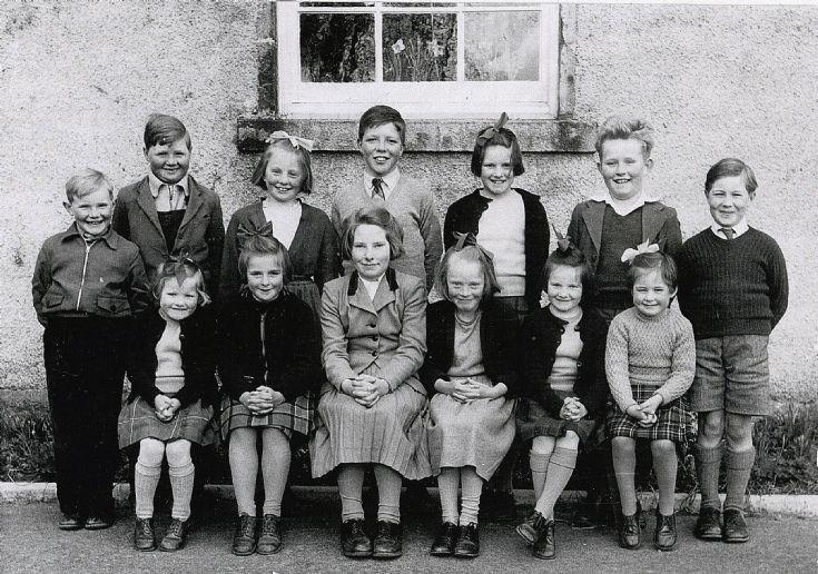 18 Glenbuchat School 1958