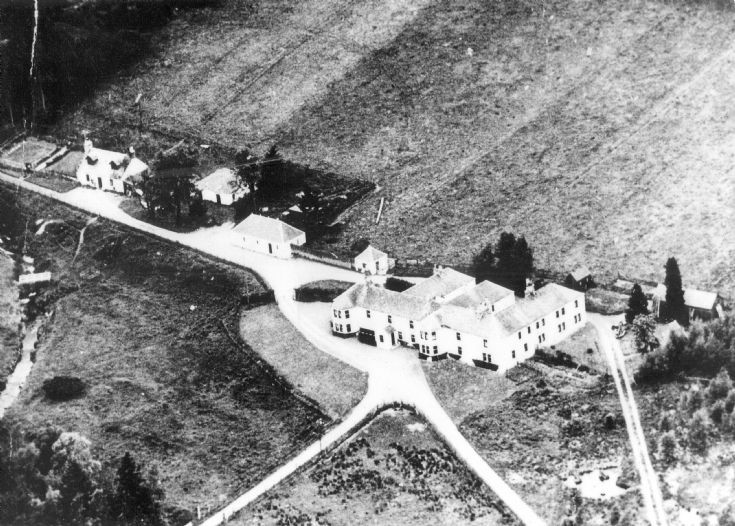 47 Glenbuchat Lodge aerial view