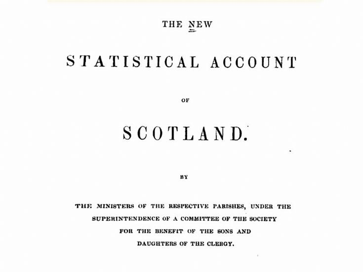 70 New Statistical Account of Strathdon 1845