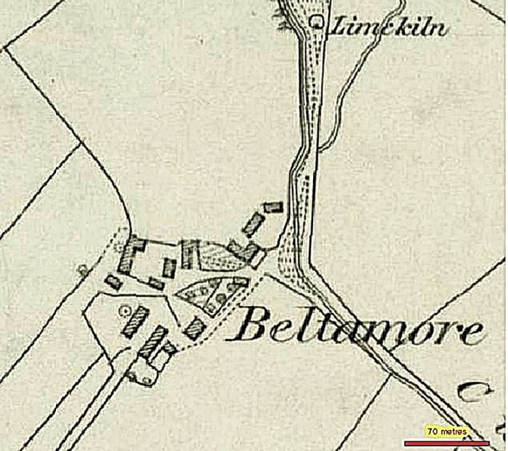 89 Baltimore Farm 1850 map