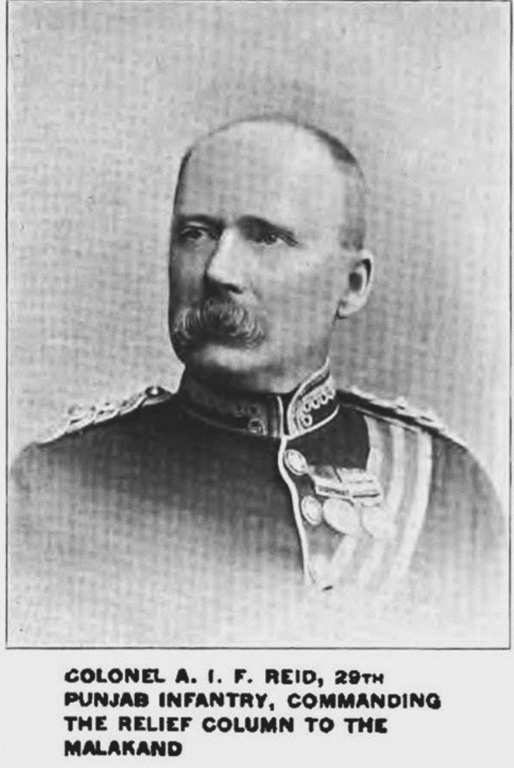 14 Major Gen Sir Alexander John Forsyth Reid