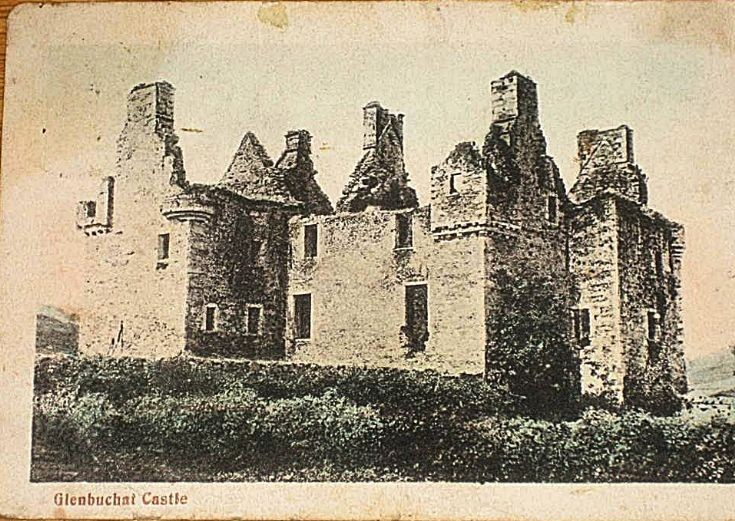 73 Post Card Glenbuchat Castle 1905