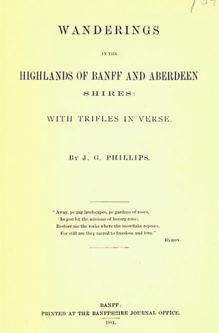 91 Wandering in the Highlands 1881