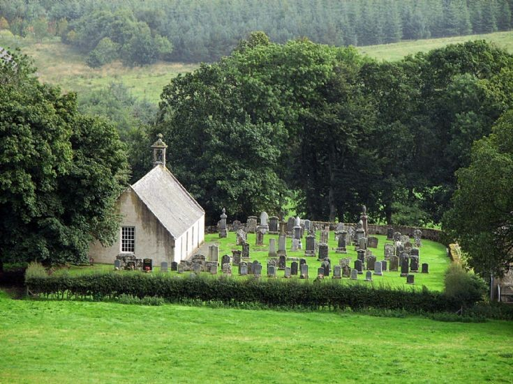 66 Glenbuchat Old Church and Cemetry