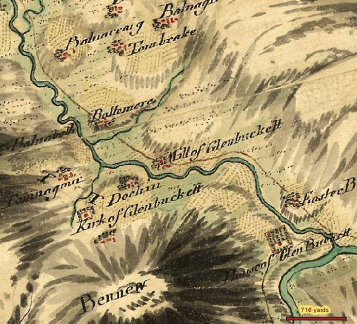 17 1750 Map of Milton