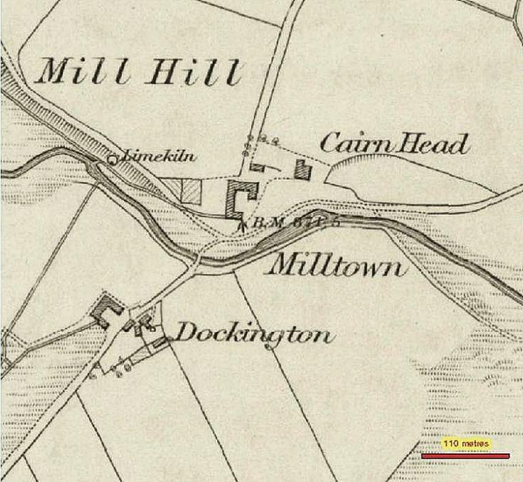 94 The Milton 1850 Map