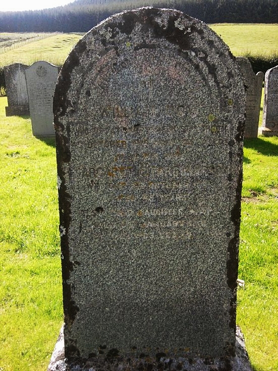 82 Grave of William Dow and Margaret Farquharson