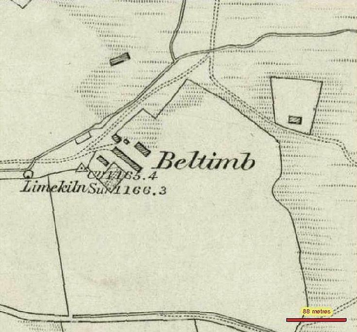 96 Beltimb 1850 map