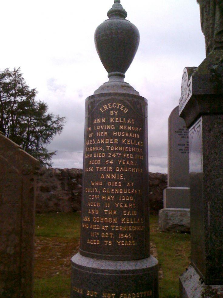 89 Kellas Memorial