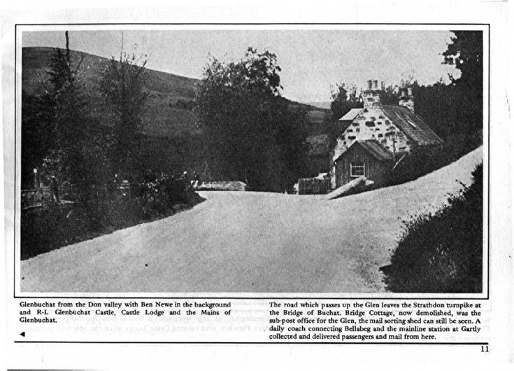 11 Bridge of Buchat and entrance to Glen