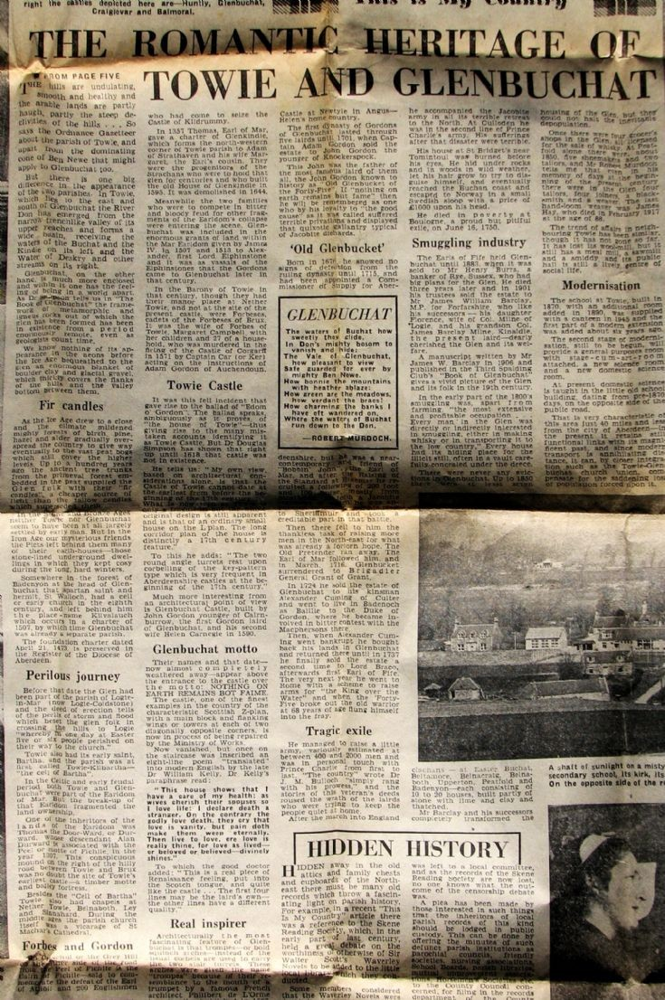 138 Glenbuchat Stories