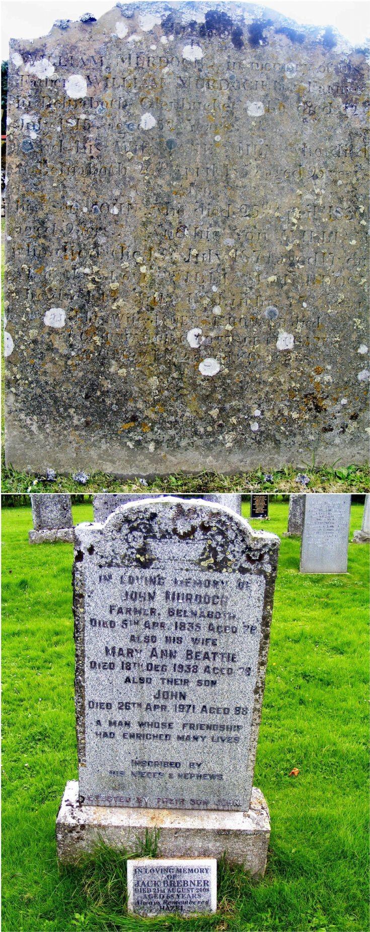 146 Murdoch Family Gravestones