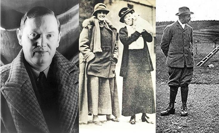 110  Evelyn Waugh, Lady Forbes and the Doctor!