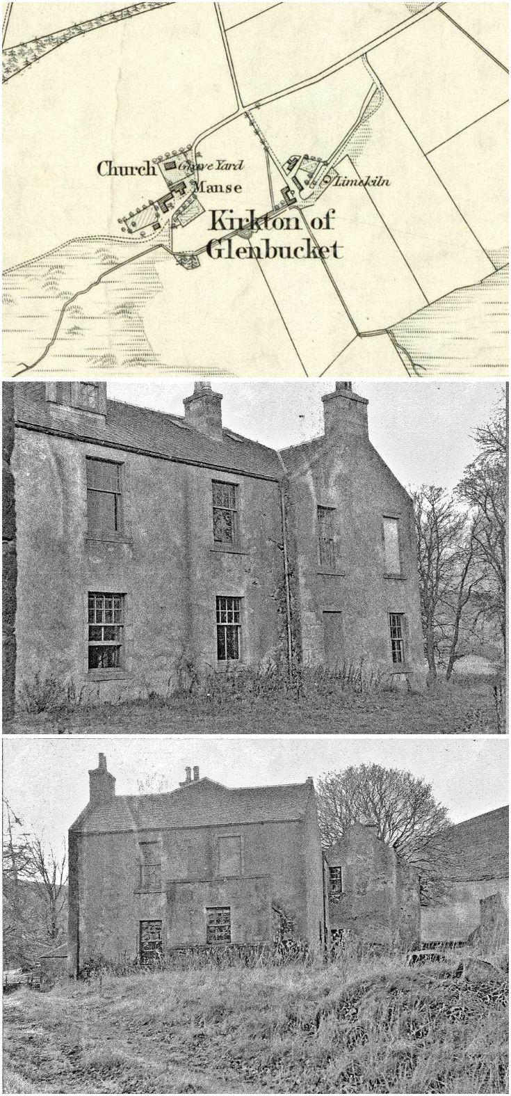 113 Glenbuchat Manse pre restoration