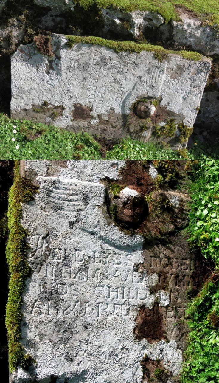 13 Grave Stone No 10 Robert William Jean Mary Reid