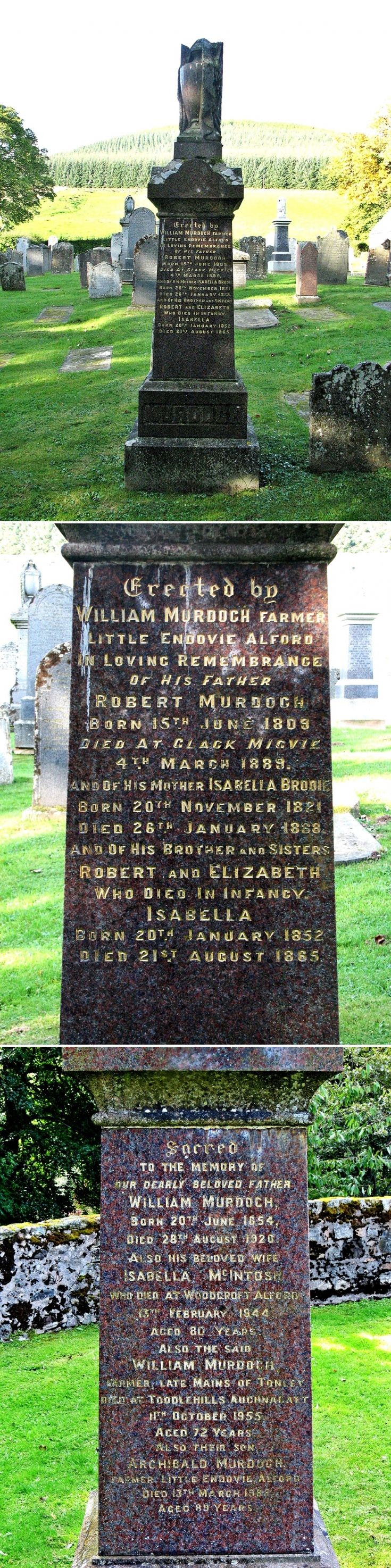 22 Grave No 19 Robert and William Murdoch