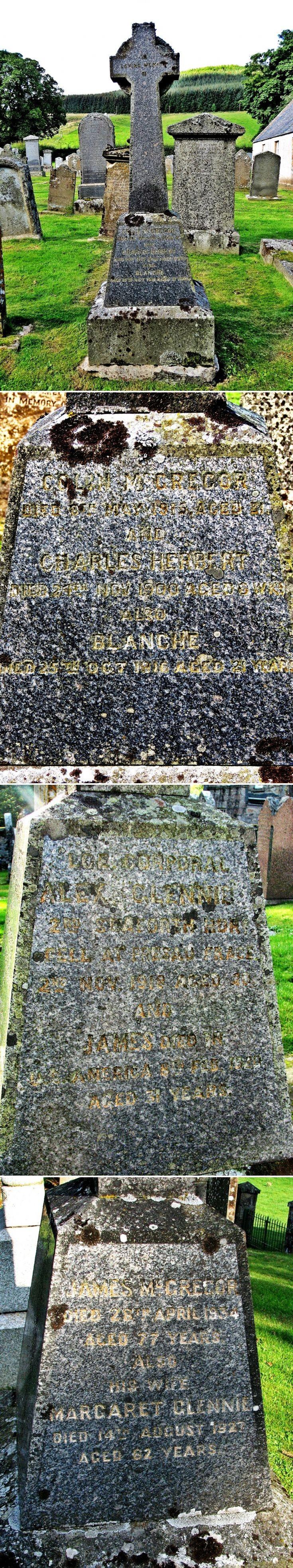 32 Grave Stone No 31 Colin McGregor