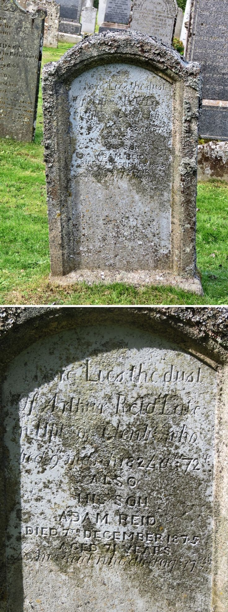 41 Grave No 45 Arthur Reid