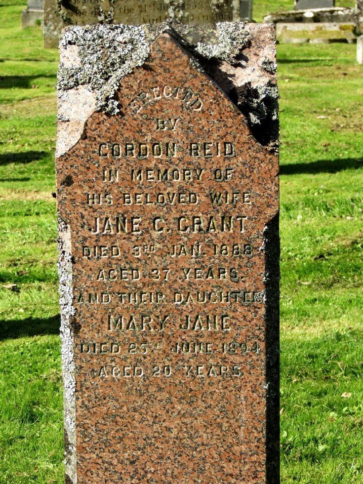 43 Grave No 48 Jane Grant