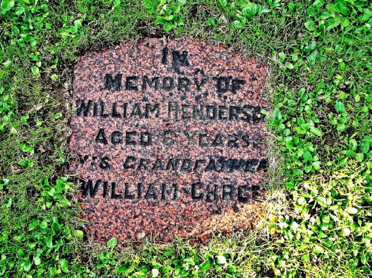 48 Grave No 54 Willaim Henderson
