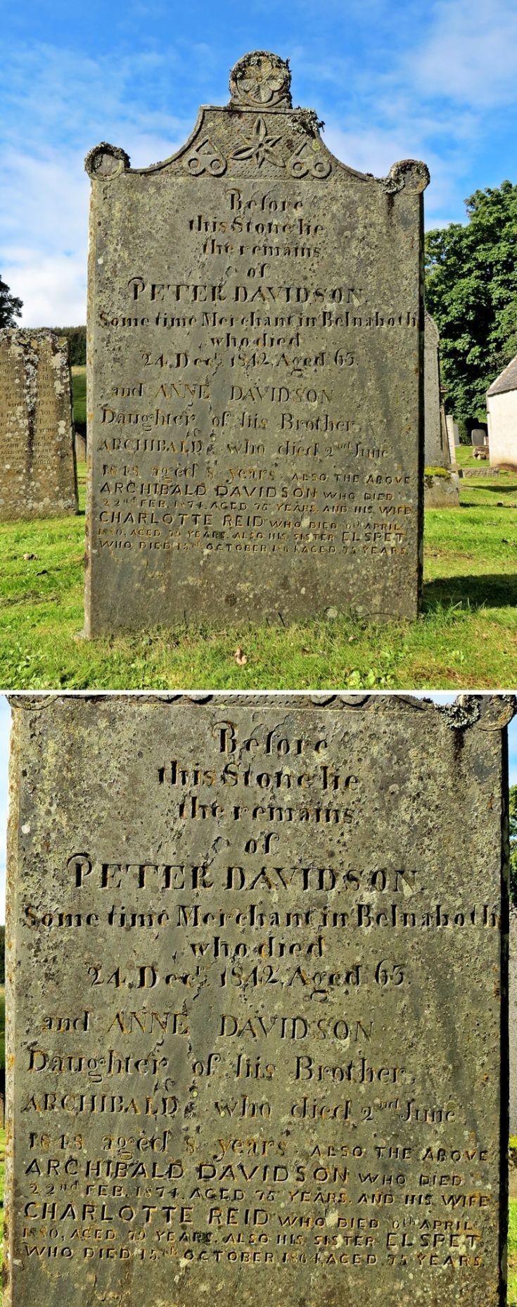 53 Grave No 60 Peter Davidson