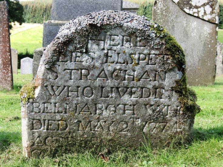 55 Grave No 63 Elspet Strachan