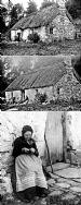 20 Strathdon Slides - Old Lady at Cottage
