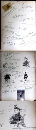 30 Castl Newe Visitors Book 1896