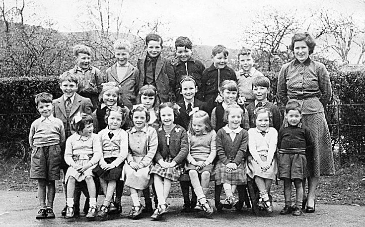 Roybridge School Pupils 1956