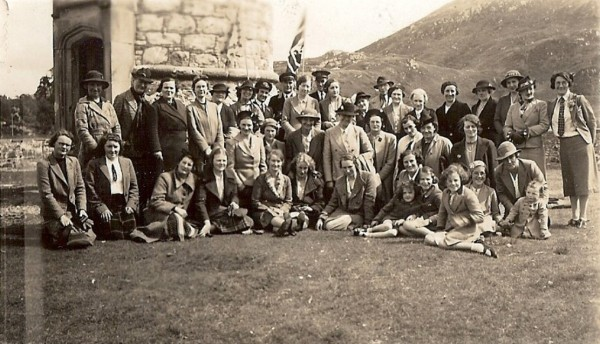 WRI outing to Glenfinnan 1939