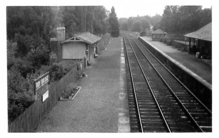 Roybridge Railway Station 1930 ?