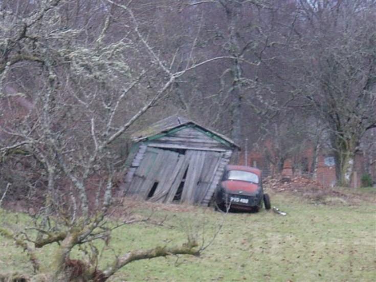 Car at Roybridge