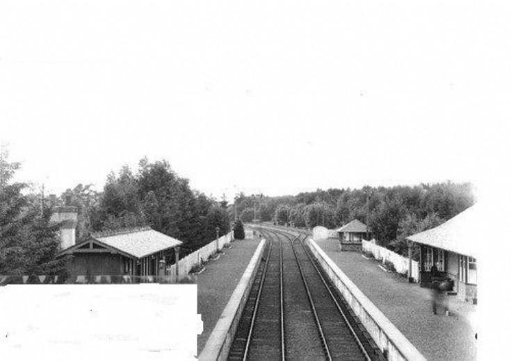 Roybridge Station 1960 ?