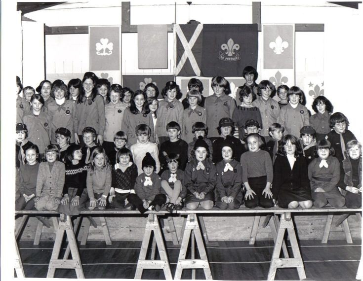 Cubs , Brownies , Scouts & Guides - 1978 / 1979