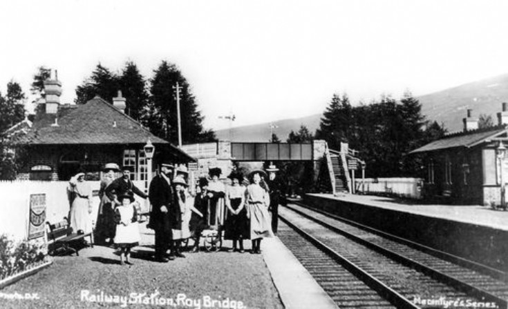 Roybridge Railways Station 1895
