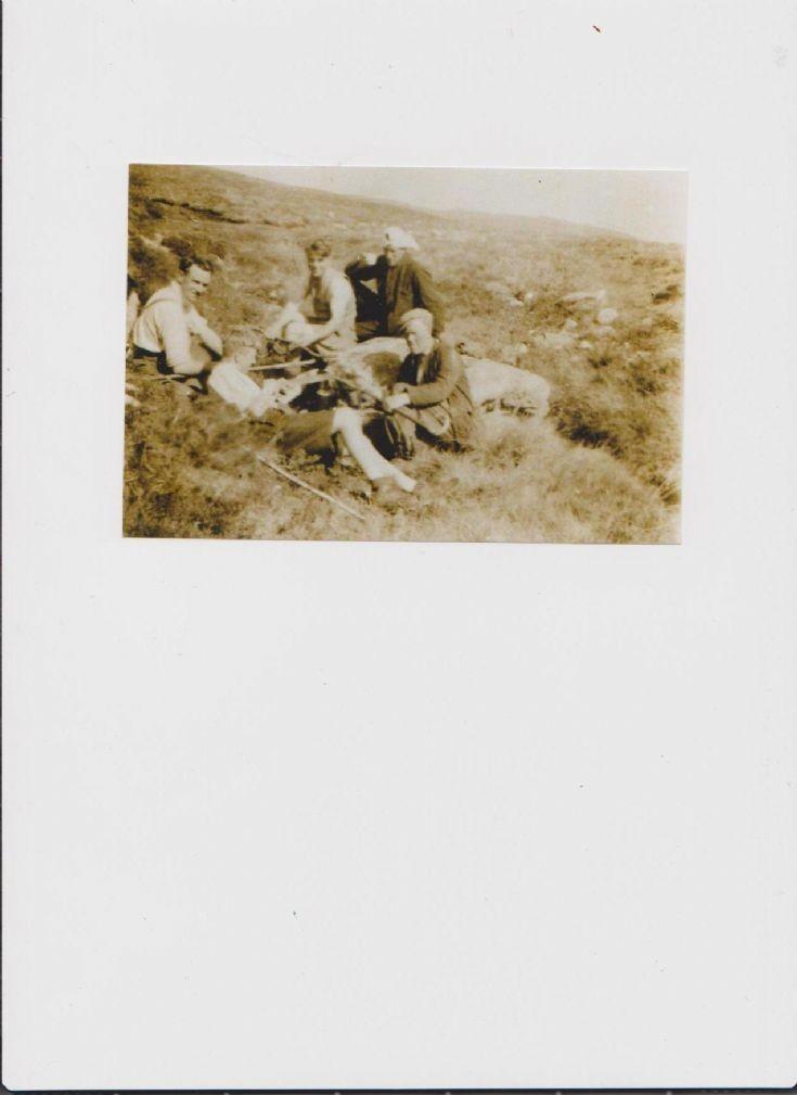 Shepherds at Thom Mhor 1948