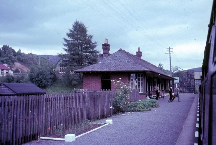 Roybridge Railway Station 1960 ?